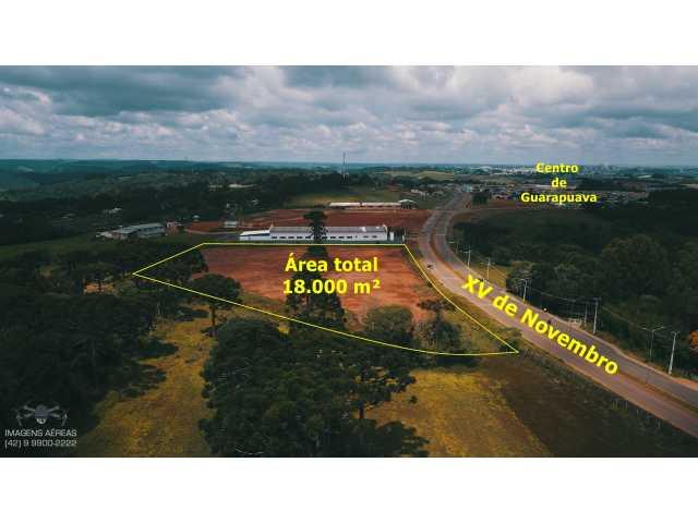 GUARAPUAVA PR - TERRENO DE 17 MIL M2   - MORRO ALTO